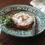 Pastilla - Moroccan chicken with almond.