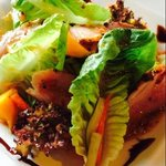 Smoked Duck Mango Salad