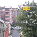 Safe hostel area with cam surveillance