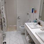 Immaculate white bathroom