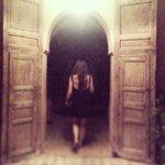 entrance to the villa rooms