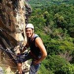 Climbing Shot
