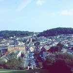 View of Oystermouth from the castle