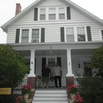 This is lovely Holland House, steps from the center of town.
