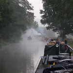 Early morning on the canal near The Clifford