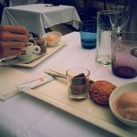Menu midi à 25€ > Café gourmand