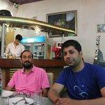 Bhan Sir & Myself... (Mohit Sehgal)