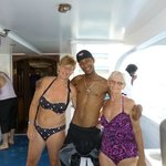 Mohammed Max - mums snorkeling instructor