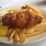 Small, Over-Battered Fish & Chips