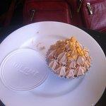 Cupcake au fruit de la passion.