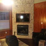 Tv/Fireplace in Living area