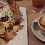 Amazing crab sandwitch