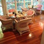 veranda breakfast