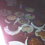 Restaurante África, Luxor,Egito: menu principal típico, pratos quentes. Excelente!