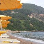 пляж Яз у нашего отеля