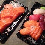Sashimis et sushis (livraison à domicile)