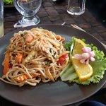 Nouille crevette et sa sublime sauce Bangkok
