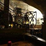 ristorante al piano inferiore
