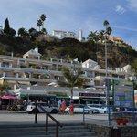 Hotellet sett fra stranda