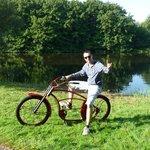 Cool rented bike