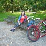 Cool rented bikes