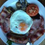 Fabulous full English breakfast