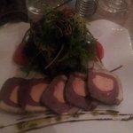 Canard foie gras en entrée
