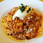 Paparedelle with Lamb Bolognese