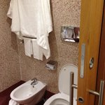Bidet and Toilet
