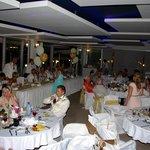 Reception at the thalassa restaurant