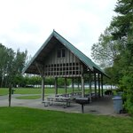 Reservable picnic shelter