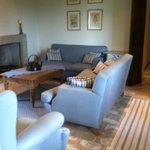 One of the cosy sitting rooms I enjoyed during my stay...