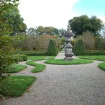 The formal gardens at Birr