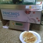 Breakfast pancake machine