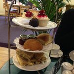 Delicious afternoon tea at Dobbies Clifton.