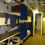 Sleeping quarters on the Icebreaker Mackinaw