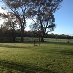View from the front patio, Byronsvale, Bendigo