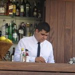 the best bartender in Barcelona - Daniel!