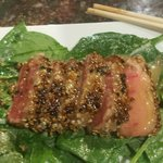 Seared yellowfin tuna...Phenomenal!