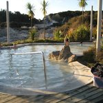 The hot sulfur pool