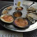 oyster and clams to start