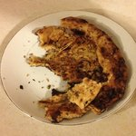 Stale and Burnt Naan Bread