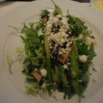 Salad with Asparagus and Blue Cheese, wonderful