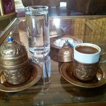 Welcome coffee at Best Western Antea