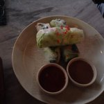 Rice paper rolls - light and delicious!