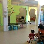 Inside the miniland kids club