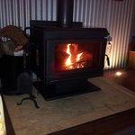 Nice cosy fire
