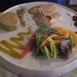 Twee soorten foie gras als voorgerecht