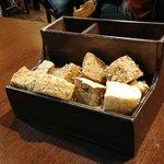 Presentación del pan