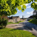 Authentic and charming fortified farmhouse in Ligré Village between Chinon and Richelieu.